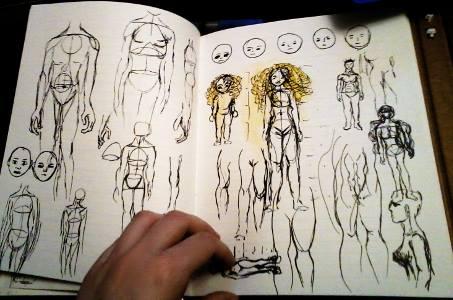 Anatomie und Proportionen üben - Zeichnen Tipps | Sockenzombie