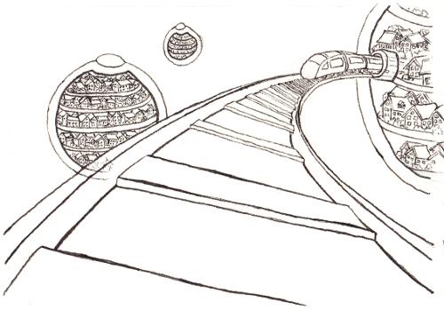 Dimensionssprung Zeichnen Tutorial Sockenzombie