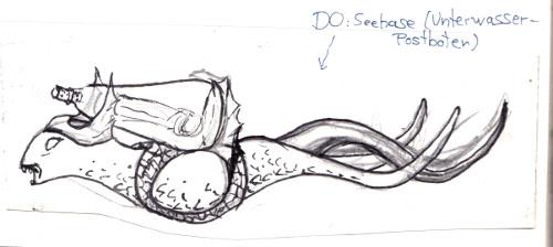 Can - Seehase - Skizze - Sockenzombie