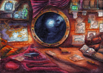 U-Boot: Mara - oberstes Deck - oberer Teil von Coras Kinderzimmer