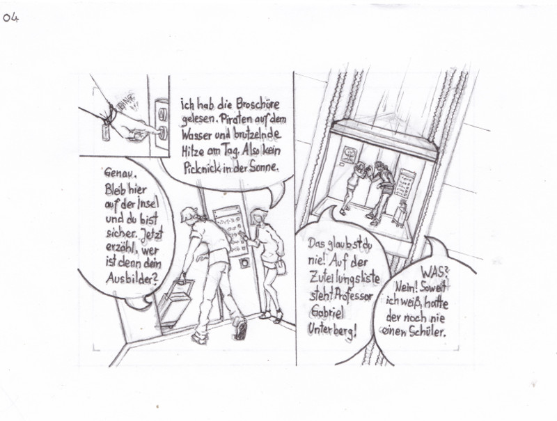 miniaturcomic auf kakaokarten von sockenzombie - seite 4 (antares)