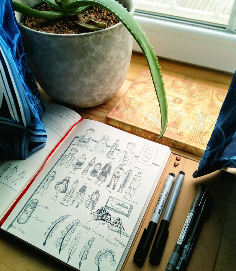 Skizzenbücher von Sockenzombie