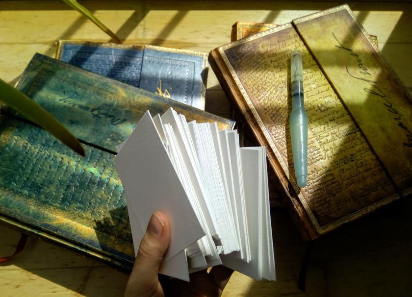 sockenzombie skizzenbücher wassertankpinsel papier paperblanks