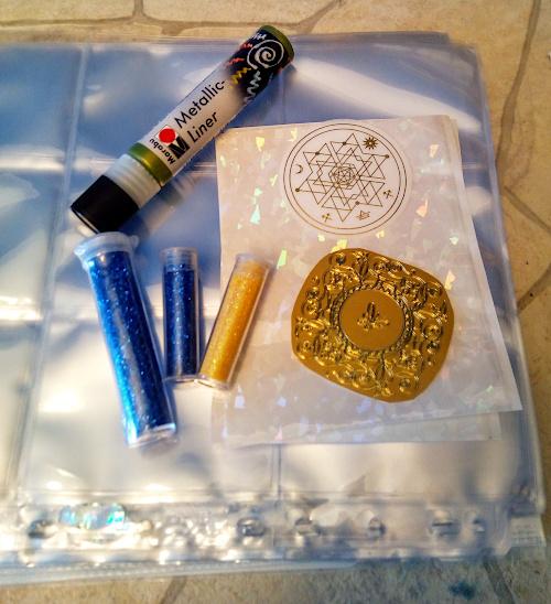 künstlermaterial wanderpaket - sockenzombie