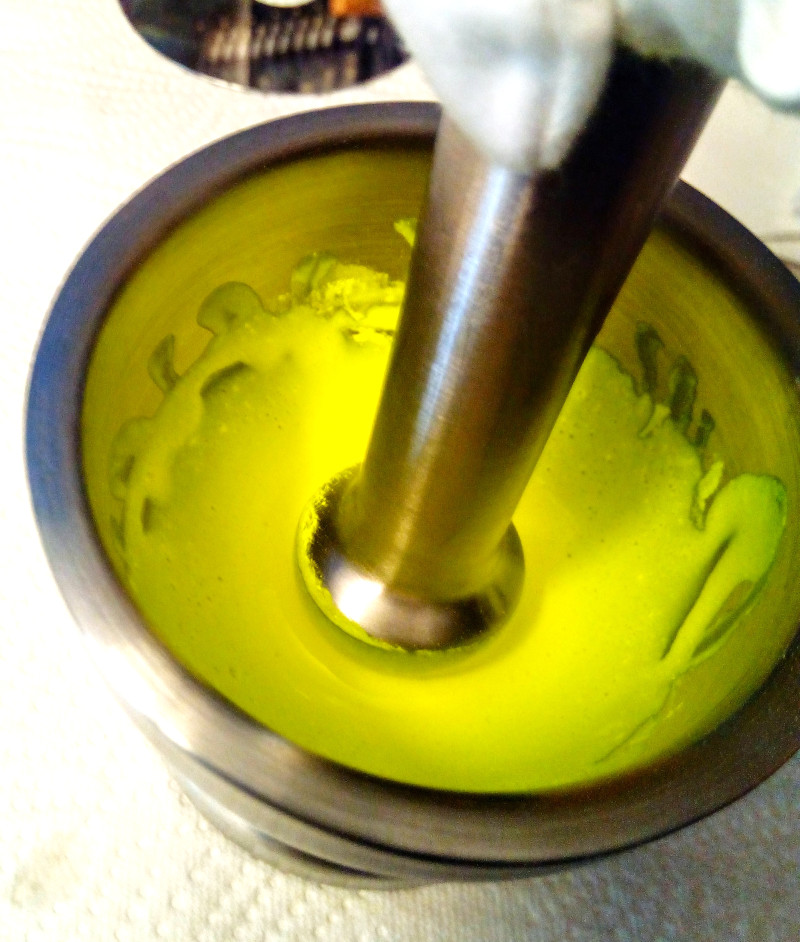 sockes farbenbrauerei - fluoreszierendes Neongelb - Aquarellfarben herstellen