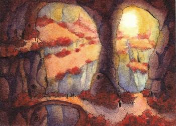 miniaturkunstwerke - kakaokarten von sockenzombie