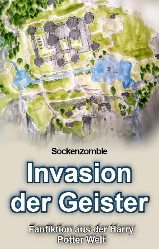 sockenzombie - harry potter fanfiktion - cover - invasion der geister